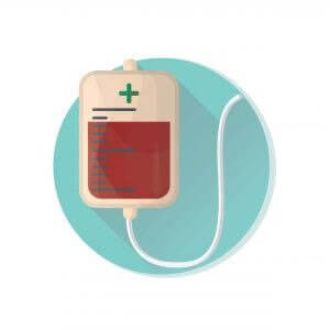 Bolsa de hemoderivados para transfusión sanguínea