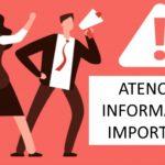 Información relevante sobre el funcionamiento de la Unidad de Eii a causa de la alarma sanitaria por el Covid19