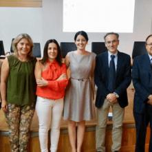 Elena Cerrillo con equipo EII del Hospital La Fe