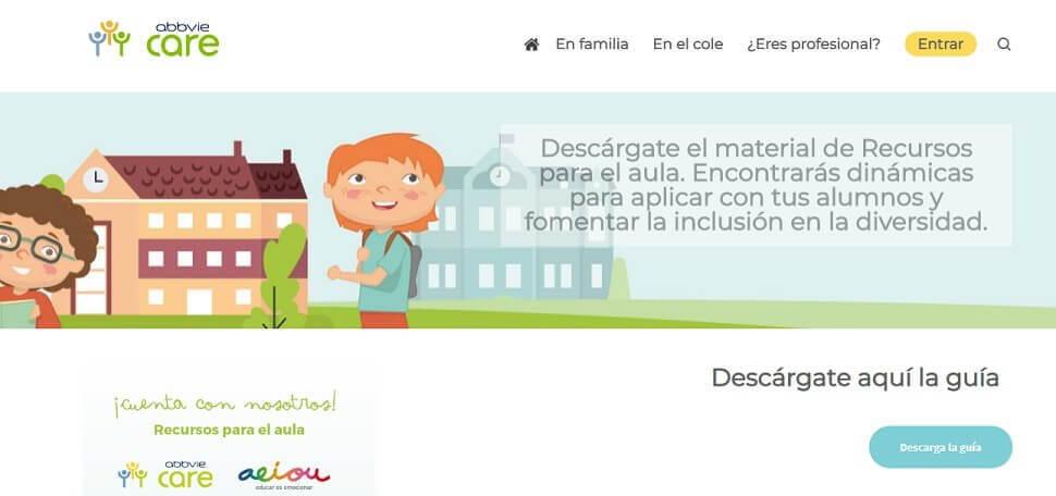 Recursos on line para padres, profesores y profesionales de niños con EII