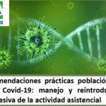 Recomendaciones de GETECCU de manejo de la Eii durante la pandemia COVID