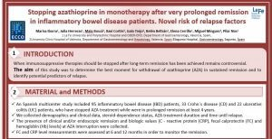 Retirada de Azatioprina en pacientes asintomáticos
