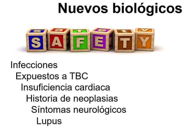 Perfil de seguridad nuevos biologicos para la Enfermedad Inflamatoria Intestinal