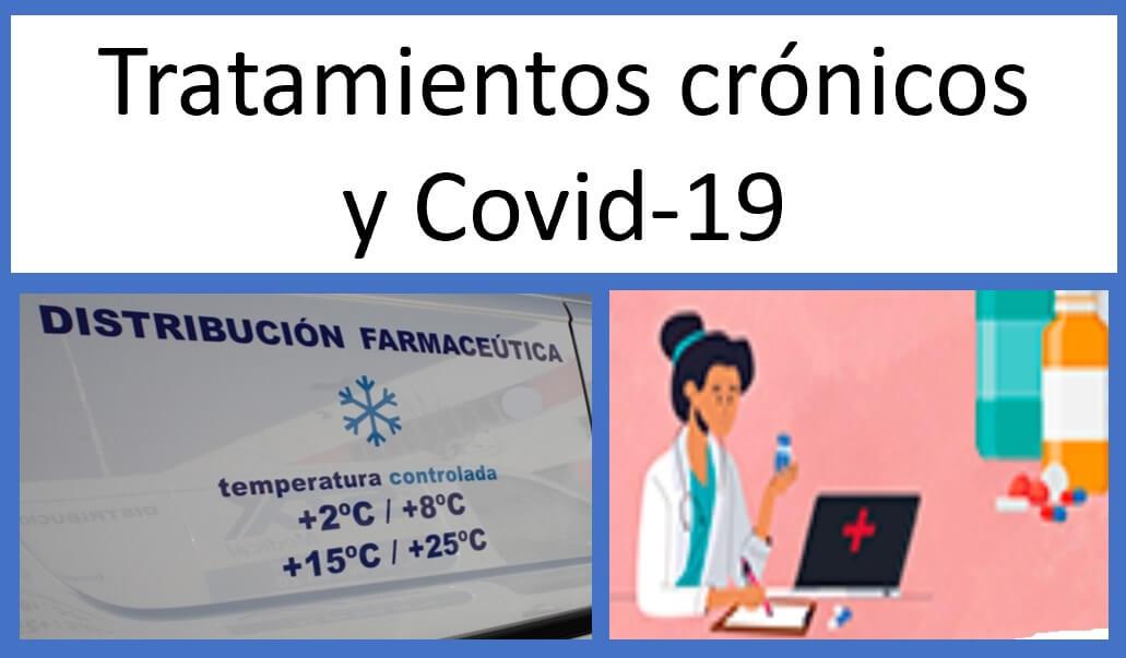 tratamientos crónicos y covid-19
